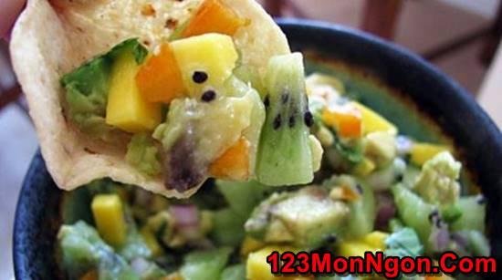 Cách làm món Salad xoài wiki chua ngọt thơm ngon cho thực đơn hằng ngày thêm phong phú phần 5