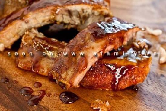 Cách làm món sườn nướng cay mềm thơm ngon thật hấp dẫn ăn là ghiền cho ngày cuối tuần phần 10