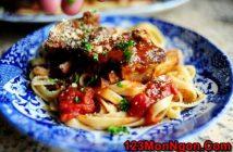 Cách làm món sườn nướng sốt cà mềm thơm vị Ý cực hấp dẫn cho cả nhà thưởng thức