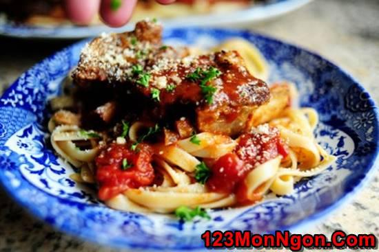 Cách làm món sườn nướng sốt cà mềm thơm vị Ý cực hấp dẫn cho cả nhà thưởng thức phần 1