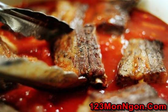 Cách làm món sườn nướng sốt cà mềm thơm vị Ý cực hấp dẫn cho cả nhà thưởng thức phần 7