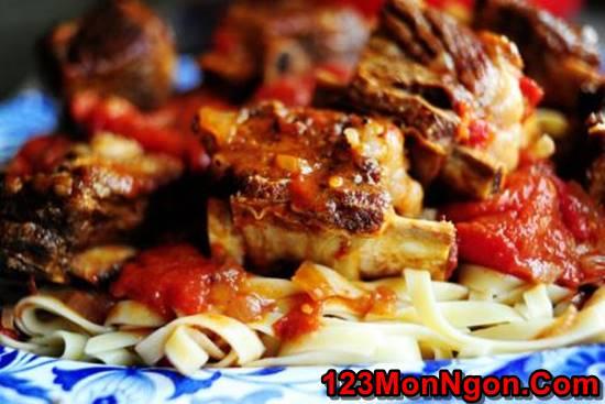 Cách làm món sườn nướng sốt cà mềm thơm vị Ý cực hấp dẫn cho cả nhà thưởng thức phần 8