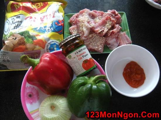 Cách làm món sườn xào chua ngọt đẹp mắt thơm ngon cực hấp dẫn cho bữa cơm thêm thú vị phần 2