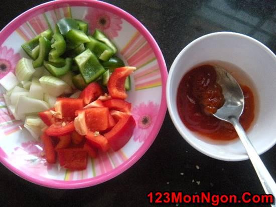 Cách làm món sườn xào chua ngọt đẹp mắt thơm ngon cực hấp dẫn cho bữa cơm thêm thú vị phần 3