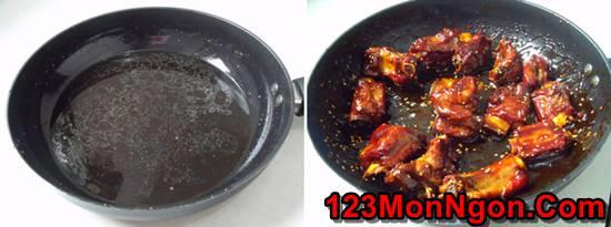 Cách làm món sườn xào chua ngọt miền Bắc đậm đà thơm ngon cho cả nhà thưởng thức phần 3