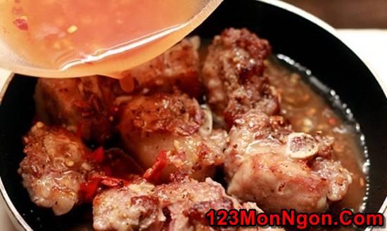 Cách làm món sườn xào chua ngọt miền Trung đậm đà thơm ngon đổi vị cho cả nhà phần 4