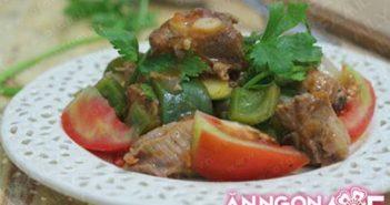 Cách làm món sườn xào chua ngọt thơm lừng hấp dẫn cho bữa cơm thêm ngon miệng