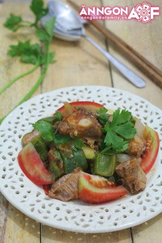 Cách làm món sườn xào chua ngọt thơm lừng hấp dẫn cho bữa cơm thêm ngon miệng phần 14