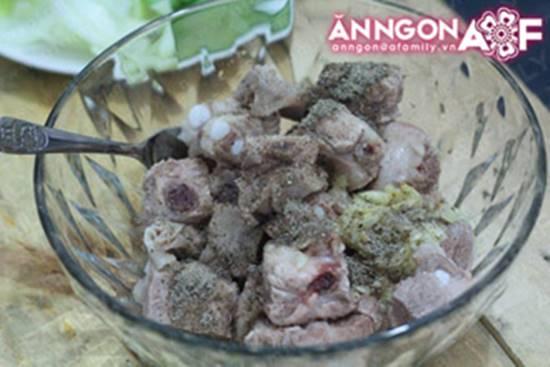 Cách làm món sườn xào chua ngọt thơm lừng hấp dẫn cho bữa cơm thêm ngon miệng phần 5