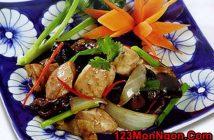 Cách làm món thịt gà xào rau thơm ngon đậm đà cực hấp dẫn cho thực đơn hằng ngày