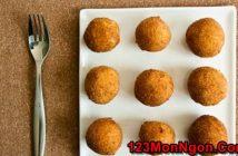 Cách làm món trứng cút bọc bí đỏ chiên giòn thơm bùi cực ngon nhâm nhi ngày cuối tuần