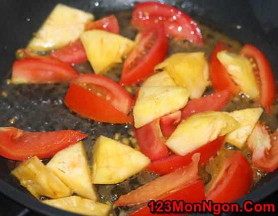 Cách làm sườn xào chua ngọt kiểu miền Nam đơn giản mà ngọt ngào thơm ngon ăn là ghiền phần 7
