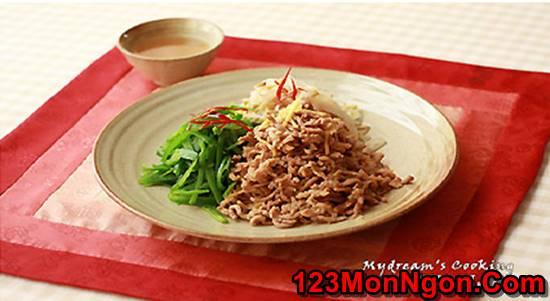 Cách làm thịt lợn trộn chua ngọt kiểu Hàn Quốc mới lạ thơm ngon thay đổi thực đơn hằng ngày phần 3
