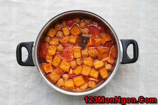 Cách nấu bún riêu cua dân dã thơm ngon đâm đà đúng vị miền Bắc Trung Nam phần 16