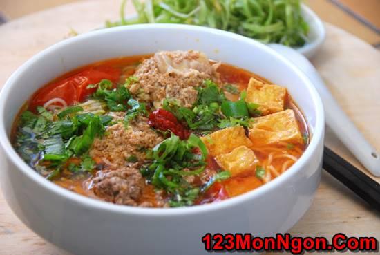 Cách nấu bún riêu cua dân dã thơm ngon đâm đà đúng vị miền Bắc Trung Nam phần 20
