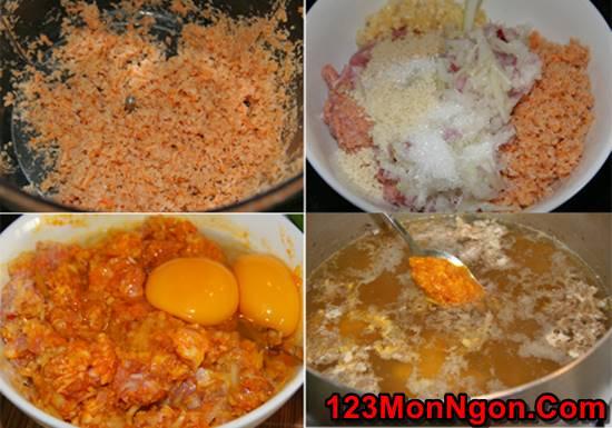 Cách nấu bún riêu cua dân dã thơm ngon đâm đà đúng vị miền Bắc Trung Nam phần 4