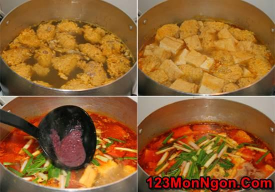 Cách nấu bún riêu cua dân dã thơm ngon đâm đà đúng vị miền Bắc Trung Nam phần 5