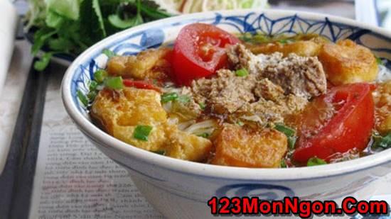 Cách nấu bún riêu cua dân dã thơm ngon đâm đà đúng vị miền Bắc Trung Nam phần 7
