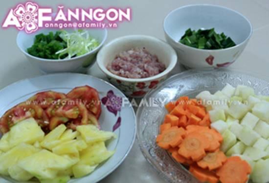 Cách nấu canh thịt viên chua ngọt thanh mát thơm ngon cho bữa cơm ngày hè oi ả phần 2