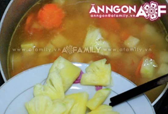 Cách nấu canh thịt viên chua ngọt thanh mát thơm ngon cho bữa cơm ngày hè oi ả phần 8