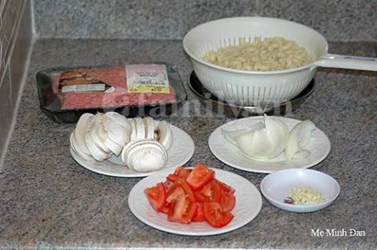 Công thức làm món nui xào bò băm thơm ngon đủ chất cho bữa cơm gia đình thêm hấp dẫn phần 2