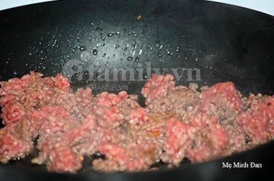 Công thức làm món nui xào bò băm thơm ngon đủ chất cho bữa cơm gia đình thêm hấp dẫn phần 3