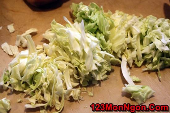 Cách làm dưa bắp cải muối chua giòn thơm ngon cực đơn giản ăn là ghiền phần 3