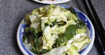 Cách làm dưa bắp cải muối chua giòn thơm ngon cực đơn giản ăn là ghiền