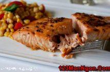 Cách làm món cá hồi nướng thơm ngon nóng hổi rất bổ dưỡng ăn là ghiền