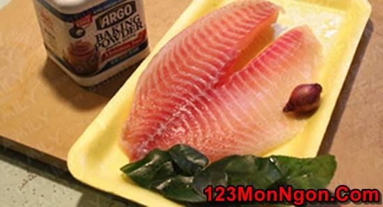 Cách làm món chả cá lá chanh thơm nức giòn ngon cực hấp dẫn đổi vị cuối tuần phần 1
