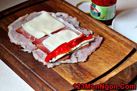 Cách làm món chả gà cuốn nóng hổi thơm ngon hấp dẫn ngày đông phần 8