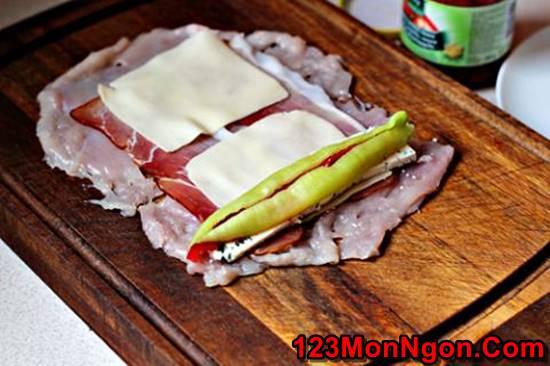 Cách làm món chả gà cuốn nóng hổi thơm ngon hấp dẫn ngày đông phần 9