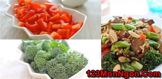 Cách làm món cơm thịt bò bông cải xanh kiểu Tàu mới lạ thơm ngon bổ dưỡng phần 1