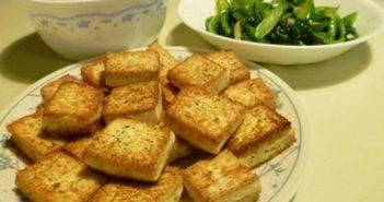 Cách làm món đậu phụ rán tẩm gia vị thơm ngon thanh đạm đổi vị cho cả nhà