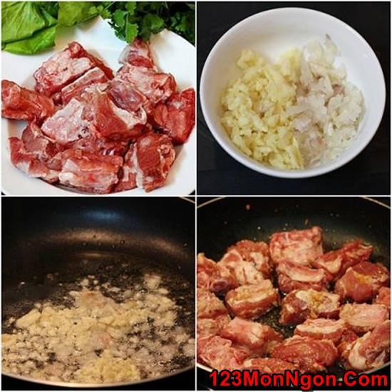Cách làm món sườn sốt me chua ngọt thơm ngon dễ ăn cho bữa tối phần 2