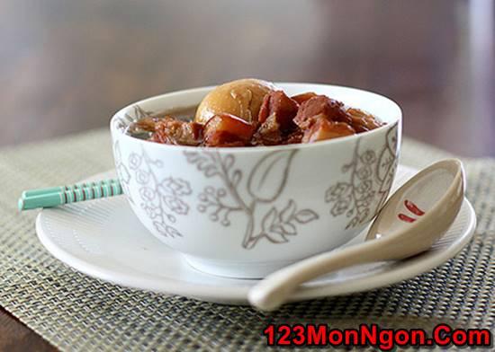 Cách làm món thịt kho trứng thơm lừng đậm đà cực ngon khó cưỡng rất đưa cơm phần 2