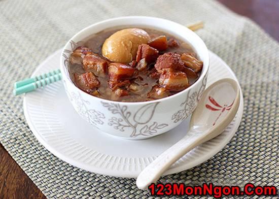 Cách làm món thịt kho trứng thơm lừng đậm đà cực ngon khó cưỡng rất đưa cơm phần 3