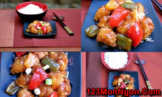 Cách làm món thịt lợn sốt chua ngọt ngon tuyệt vời cho ngày Tết sum vầy phần 10