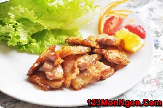 Cách làm món thịt rán cháy cạnh gói rau kiểu Hàn Quốc thơm lừng hấp dẫn cực ngon miệng phần 8