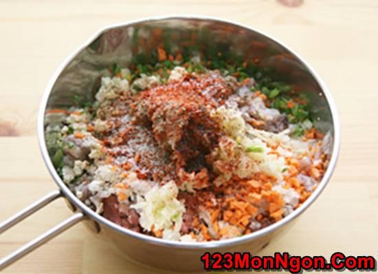 Cách làm mực nhồi thịt chiên giòn thơm ngon hấp dẫn lạ kỳ ăn là ghiền phần 2