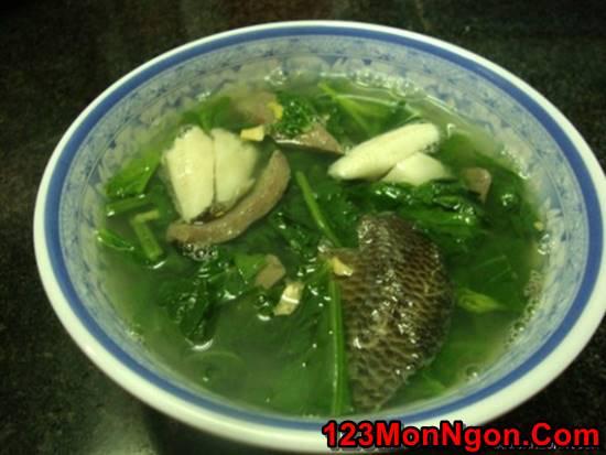 Cách làm rau cải nấu cá rô đồng thơm ngọt nóng hổi cực ngon cho bữa cơm ngày lạnh phần 1