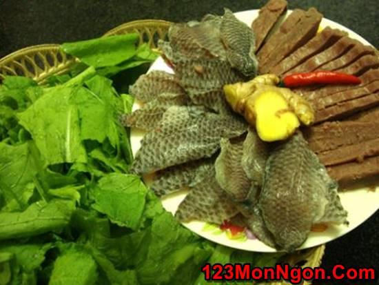 Cách làm rau cải nấu cá rô đồng thơm ngọt nóng hổi cực ngon cho bữa cơm ngày lạnh phần 3