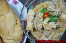 Cách làm tôm sốt bơ đậu phộng thơm ngon béo ngậy càng ăn càng thích