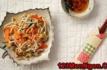 Cách muối dưa giá thơm ngon chua giòn cực hấp dẫn thanh mát ăn là ghiền