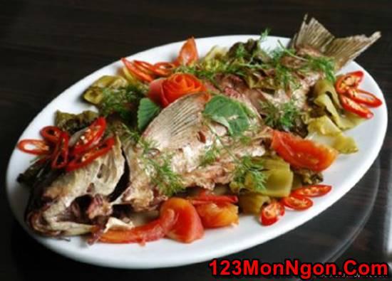 Cách nấu cá chép om dưa đậm đà thơm ngon tuyệt đỉnh đúng chuẩn cho cả nhà phần 1