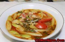 Cách nấu canh chua cá kiểu Miền Nam đậm đà thơm ngọt thanh mát cực ngon