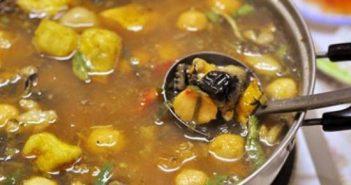Cách nấu lẩu ốc chua cay đậm đà nóng hổi cực ngon thưởng thức ngày đông