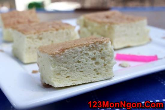 Cách làm bánh bông lan kiểu Nhật mềm thơm hấp dẫn cực ngon phần 1