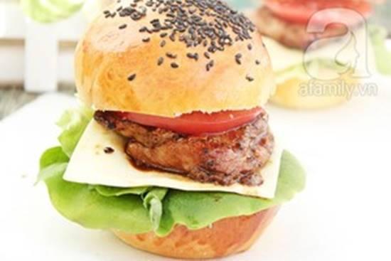 Cách làm bánh Hamburger gà thơm ngon hấp dẫn cho bữa sáng đủ chất phần 10
