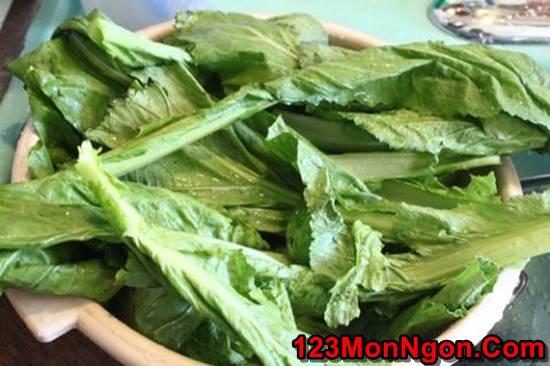 Cách làm canh cải ngọt nấu tôm nóng hổi thơm ngọt ngon cơm phần 2